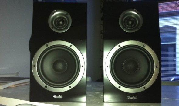 review teufel t300 mk2 speakerset. Black Bedroom Furniture Sets. Home Design Ideas