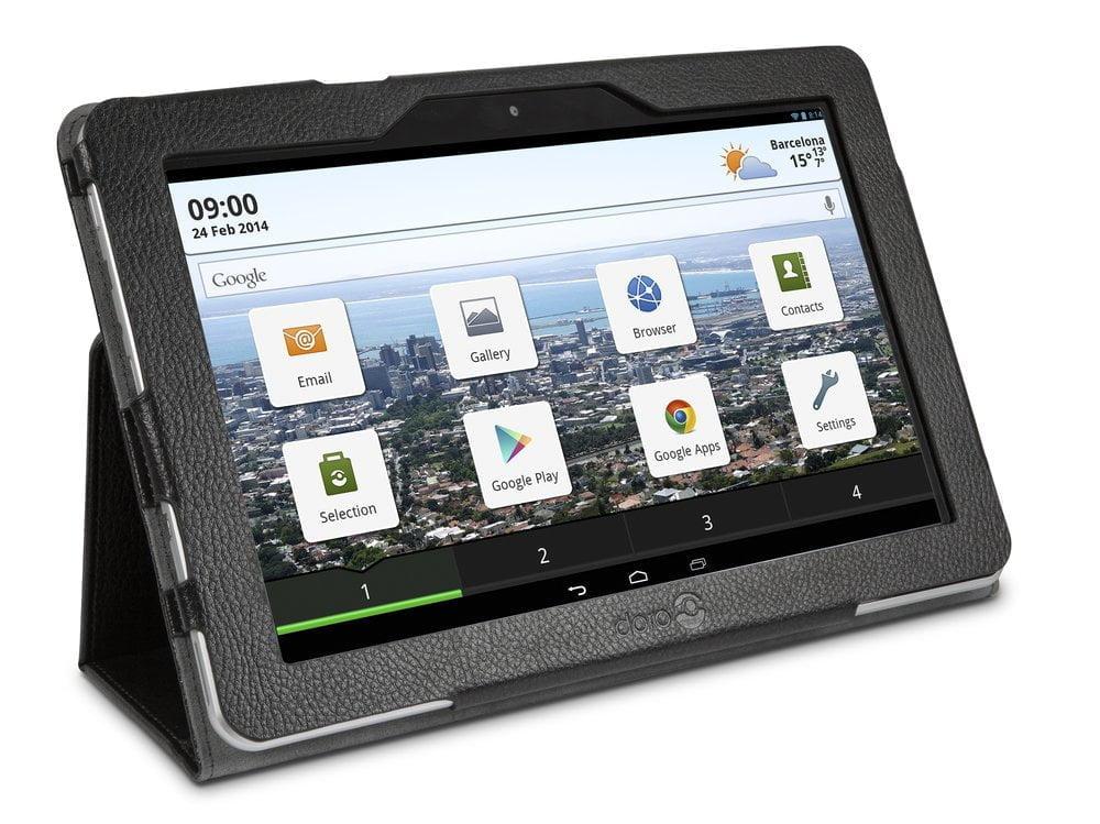 Doro kondigt speciale tablet en laptop voor senioren aan op MWC 2014