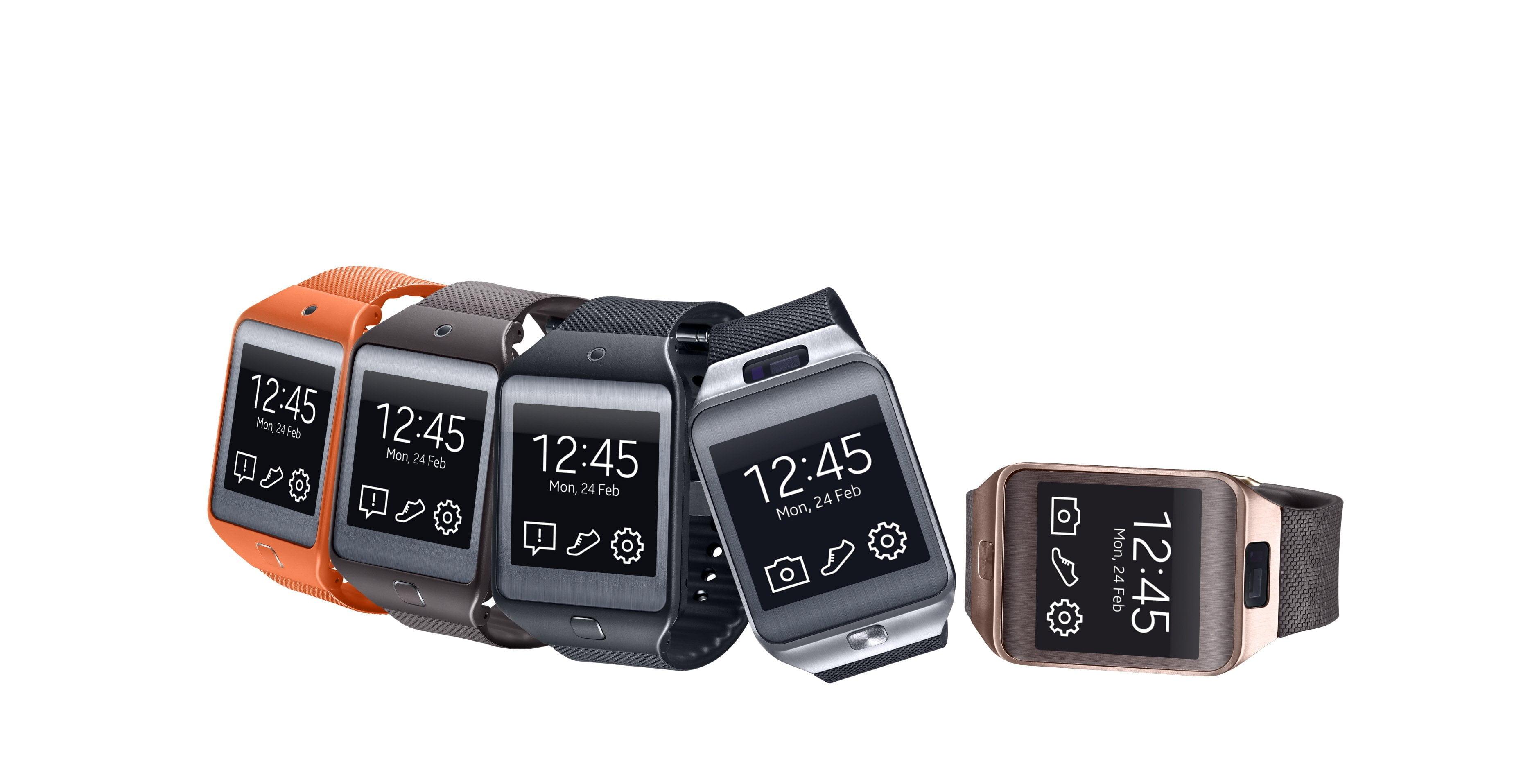 Nieuwe smartwatches van Samsung: Gear 2 en Gear 2 Neo met Tizen OS