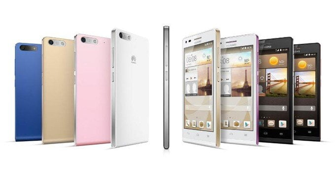 Huawei kondigt Ascend G6 aan