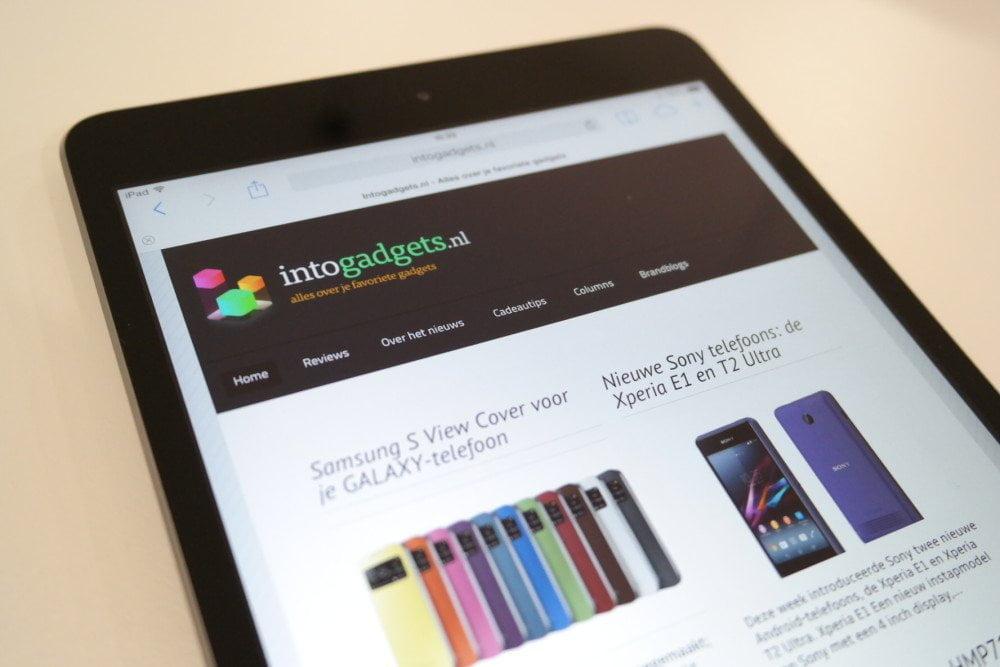 iPad Mini Retina, must-have of overbodig?