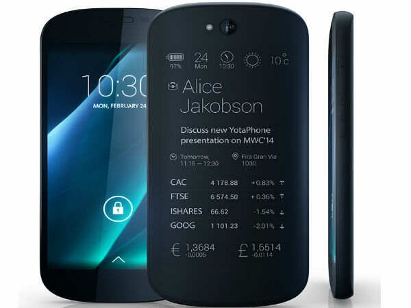 Yotaphone presenteert opvolger van dual-screen smartphone
