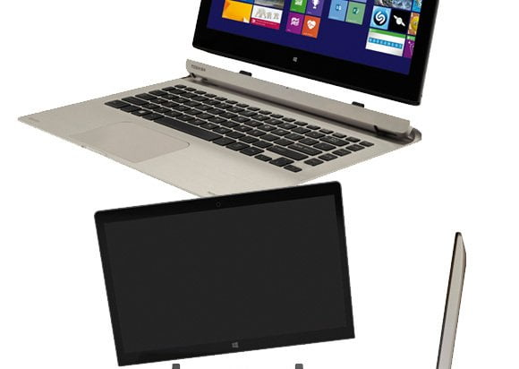 Nieuwe detachable laptops van Toshiba