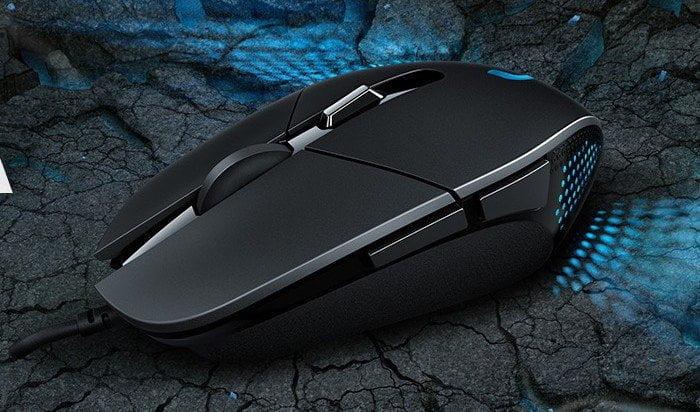 Logitech's nieuwe gaming-muis G302 Daedalus is high tech en gamet lekker