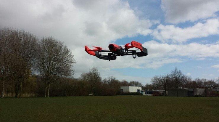 Review: vliegen met de Parrot Bebop drone