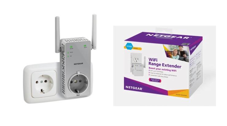 Netgear wifi AC750 draadloze extender feature