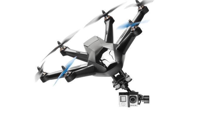 Hexo+: zelfstandig vliegende camera