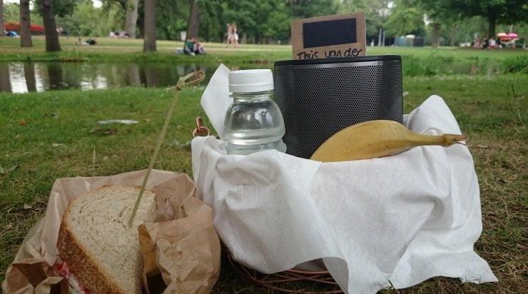 HEOS 1 in het Vondelpark