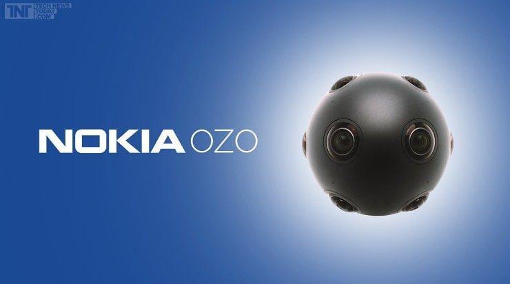 Nokia introduceert OZO virtual reality camera