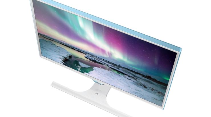 Samsung SE370-monitor: draadloos opladen terwijl je werkt