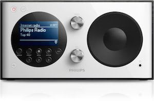Philips brengt Internet radio, DAB+ en FM in één apparaat