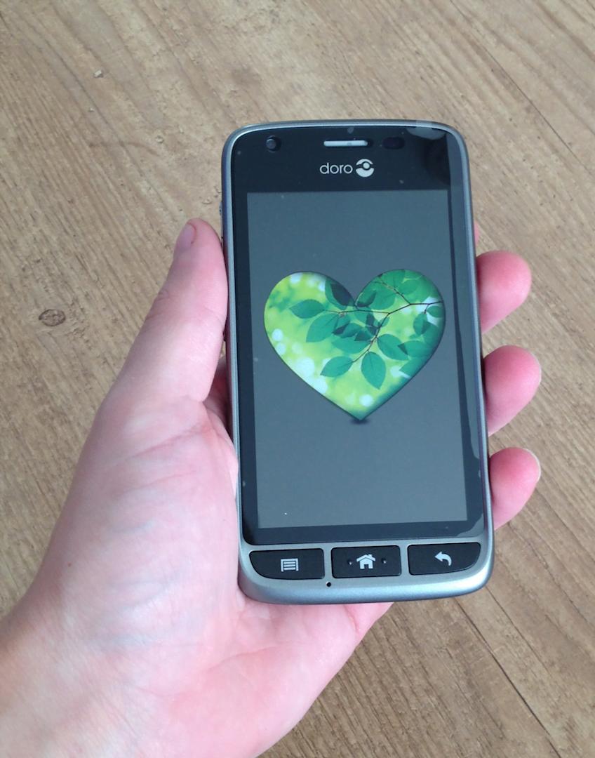 review doro liberto 820 mini smartphone voor senioren. Black Bedroom Furniture Sets. Home Design Ideas