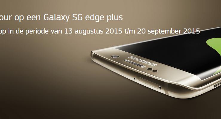 Samsung Galaxy S6 edge plus gekocht? Krijg € 75 retour