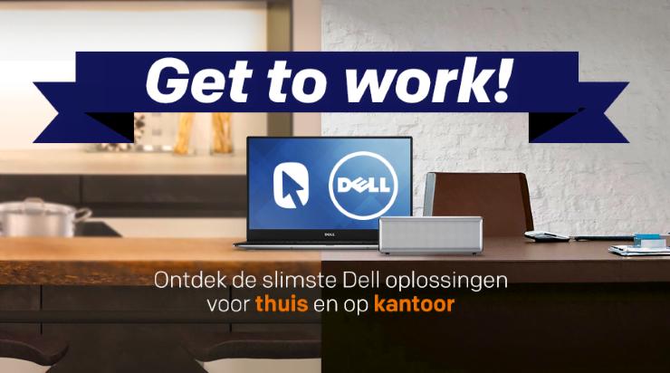 Gratis draagbare speaker (twv €60) bij Dell notebook