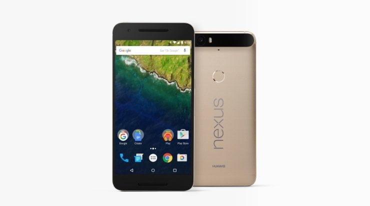 Huawei en Google introduceren Nexus 6P