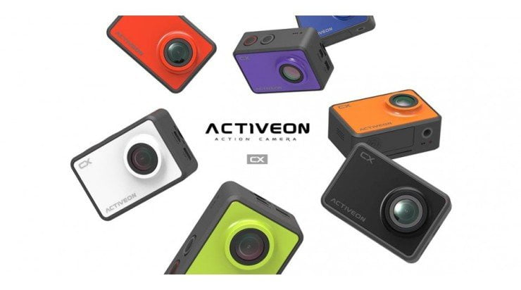 Nieuws: Activeon CX – de kleurrijke actioncam