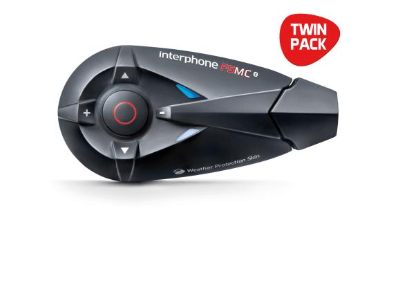 Interphone F5MC Twin Pack