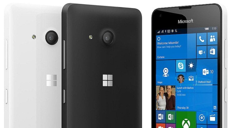 Nieuwtje: Lumia 550 nu verkrijgbaar in Nederland
