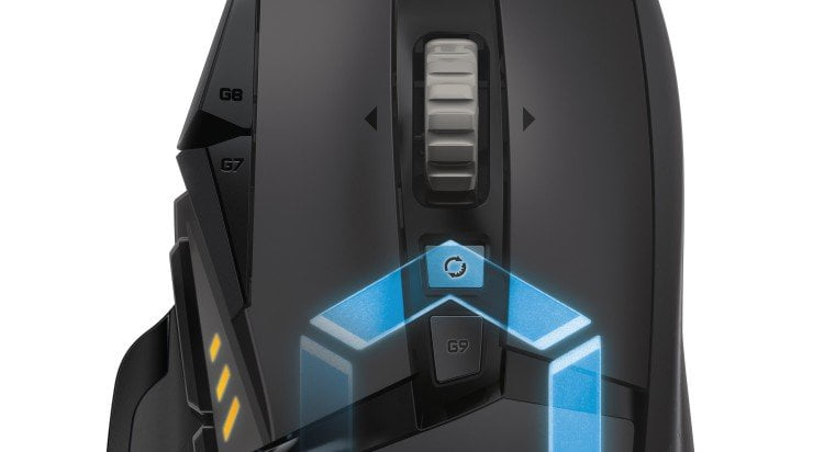 Nieuwe Logitech G502 Proteus gaming-muis op #CES2016