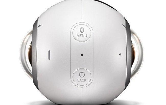 Samsung toont actiecamera Gear 360 op #MWC2016