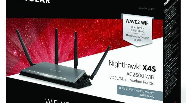 Nieuws: Netgear Nighthawk X4S AC2600 Smart WiFi Router (R7800) geïntroduceerd