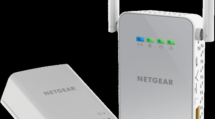 Nieuws: NETGEAR PowerLINE WiFi 1000 Adapter Kit (PLW1000)