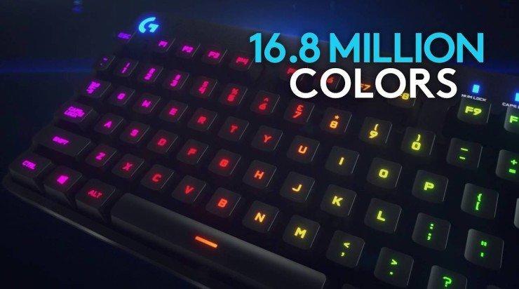 Nieuw toetsenbord van Logitech: de G810 Orion Spectrum