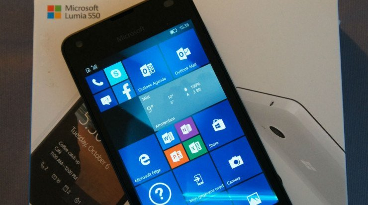 Review: Lumia 550, goedkope Windows 10 topper