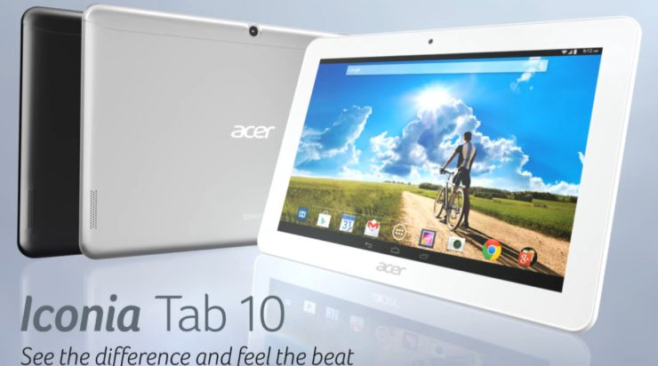 Nieuwtje: Acer introduceert Iconia Tab 10