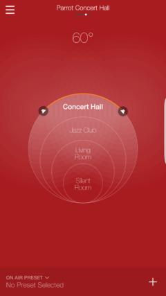 Parrot Zik 3 app sound controls