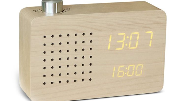 Cadeautip: Gingko Radio Click Clock