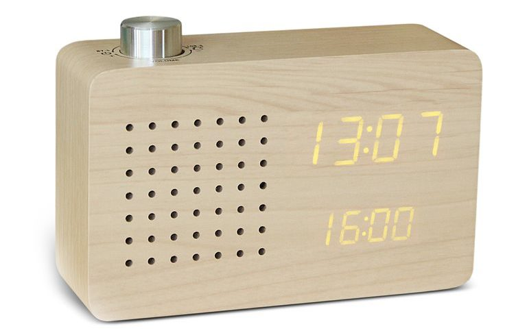 Gingko Radio Click Clock