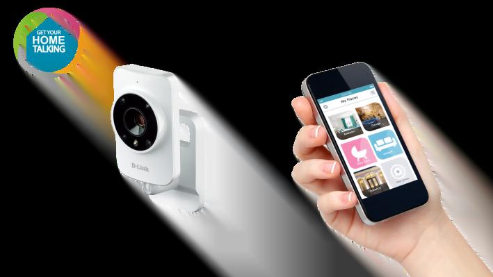 mydlink™ Home Monitor HD: de gemakkelijkste bewakingscamera