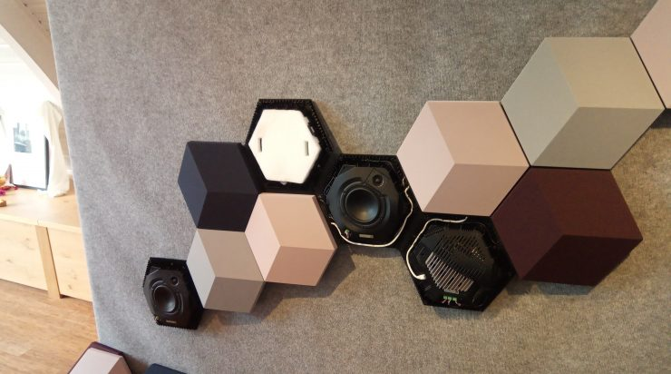 B&O toont nieuwe speakers in Amsterdam