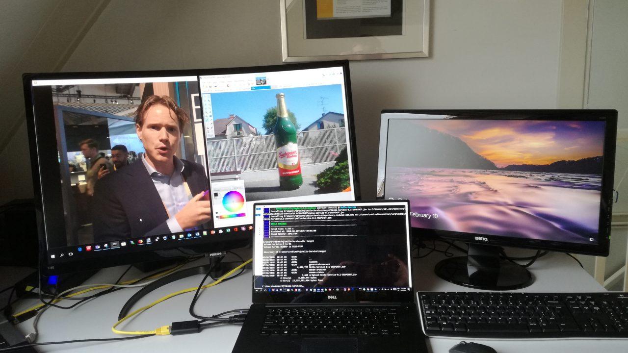 """32"""" Phlips Monitor, 22"""" BenQ en 15"""" Dell"""