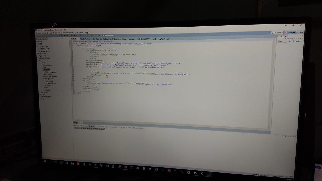 voldoende scherm ruimte in Eclipse, echter in grafische modus moeten aanpassingen worden gedaan