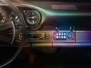 Porsche PCCM navigatie voor youngtimers